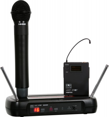 ECM The Economical 16 Channel Wireless Mic Solution (UHF)