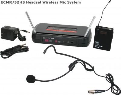ECM Headset Wireless Microphone System