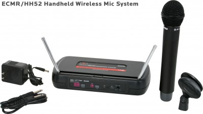 ECM Handheld Wireless Microphone System