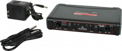 EDX Wireless Mic Receiver with components