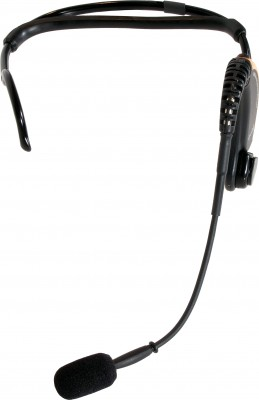 Front of Evo Wireless Headset Mic