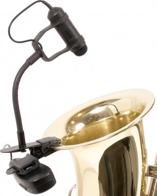 GT-INST-3 Wireless Portable Horn Mic on Sax