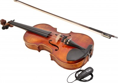GT-INST-6 Wireless Portable Violin Mic with Violin