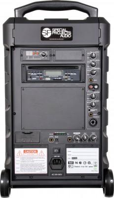 GXE Portable PA Speaker Back Image