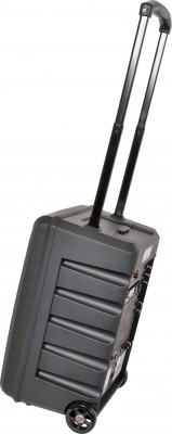 GXE Portable PA Speaker with Extended Handle and Wheels Image
