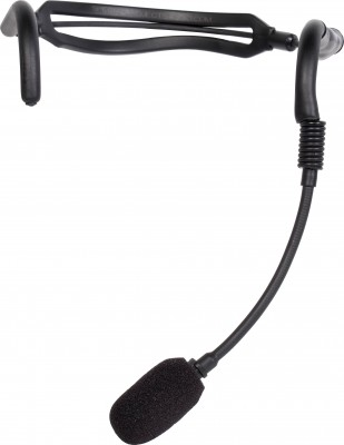 H2O7 Black Fitness Mic Front