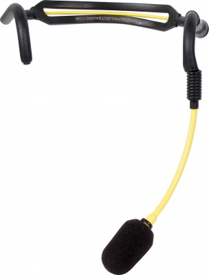 H2O7 Yellow Fitness Mic Front