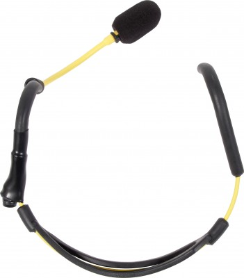 H2O7 Yellow Fitness Mic Top View