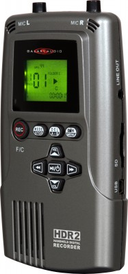 HDR2 handheld digital recorder