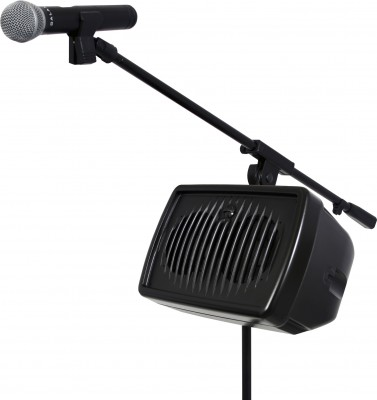 HS7 Hot Spot Personal Monitor with MBA and Mic Boom