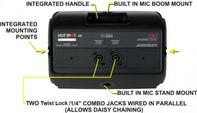 HS7 Passive Hot Spot Speaker