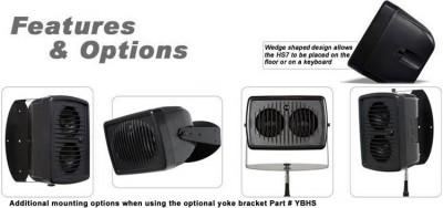 HS7 Hot Spot Personal Monitor Bracket Options