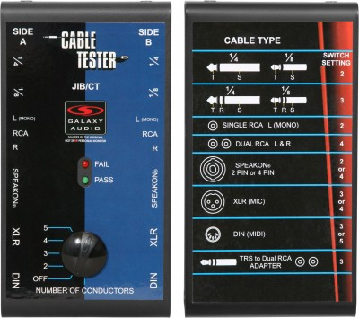 JIB/CT cable tester front and back
