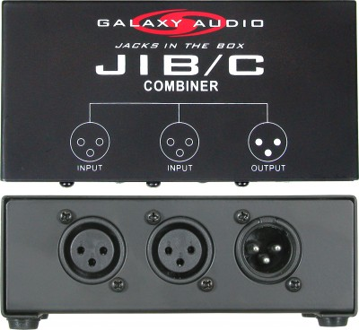 JIB/C galaxy audio combiner