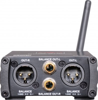 JIB/BT8R Portable Bluetooth Receiver Back