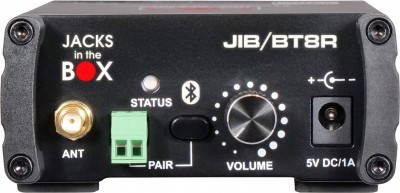 JIB/BT8R Stereo Bluetooth Receiver Front