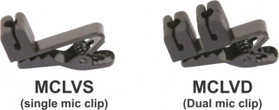 lavalier microphone clips