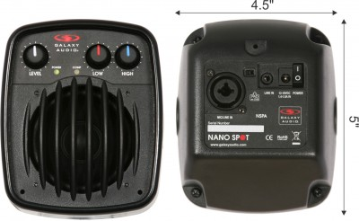 NSPA Compact Powered Nano Spot