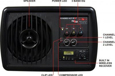 galaxy audio personal monitor