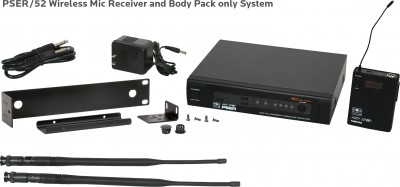 PSE Mic Receiver with Body Pack Transmitter Only