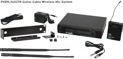 PSE Guitar Cable Wireless Mic System