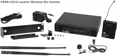 PSE Lavalier Wireless Mic System