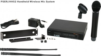 PSE Handheld Wireless Mic System