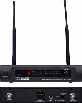 PSE Wireless Microphone Receiver