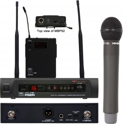 Galaxy Audio PSE Wireless Mic System