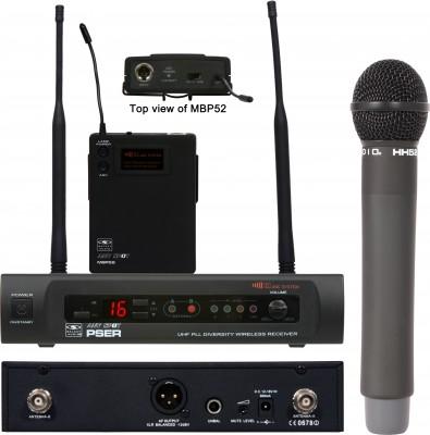 Galaxy Audio PSE Wireless Mic System