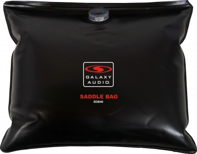 saddle bag sand/water bag