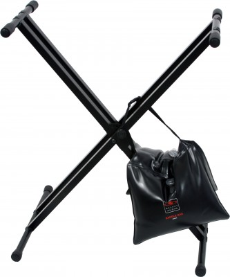 saddle bag on Keyboard Stand