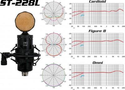 ST-228L classical condensor studio microphone