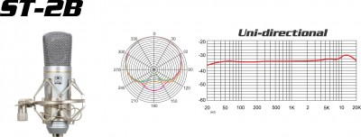 cardioid pick-up pattern