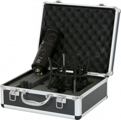 ST-328 recording microphone with case and mount