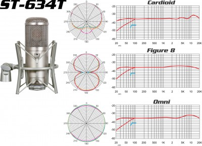 ST-634T classical condenser microphone