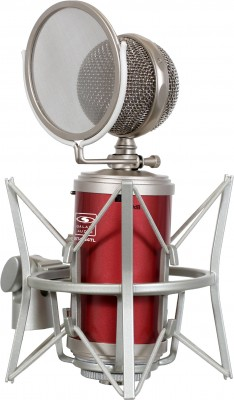 tube condenser mic mount