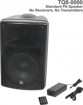 TQ8 Base System speaker with remote and MP3 player Front