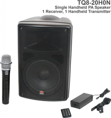 TQ8 Single Handheld Mic System N2 Frequency Front