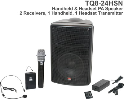 TQ8 Handheld and Headset Mic PA System Front