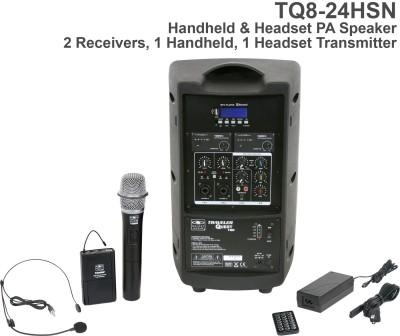 TQ8 Handheld and Headset Mic PA System Back