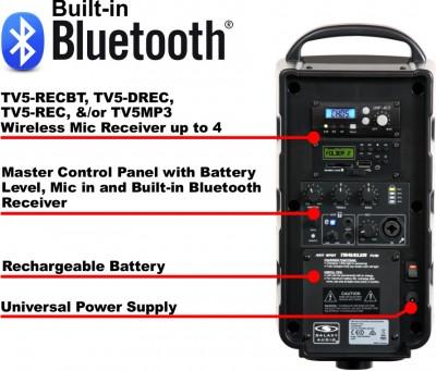TV5i speaker modules