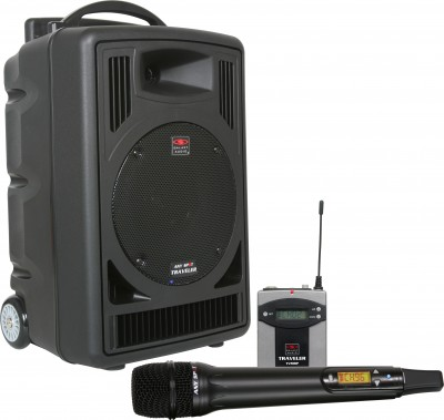 TV8 v2 PA system handheld and body pack