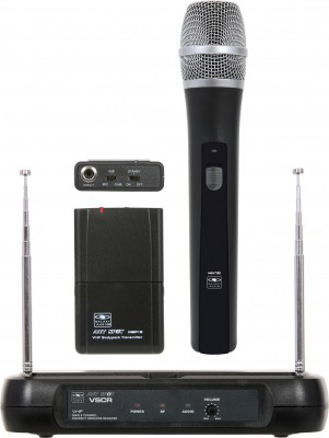 VSC (VHF) wireless microphone system