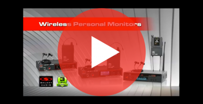 Wireless Personal Monitors