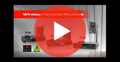 Wireless Personal Monitors