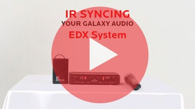 IR Syncing the EDX System