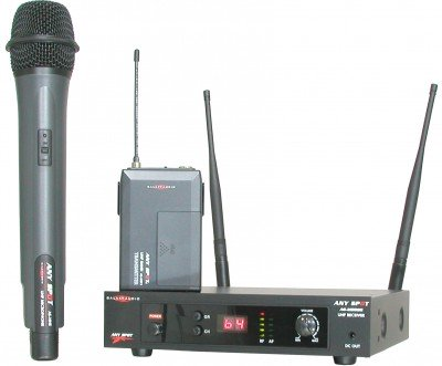 AS-M500 Wireless Microphone System